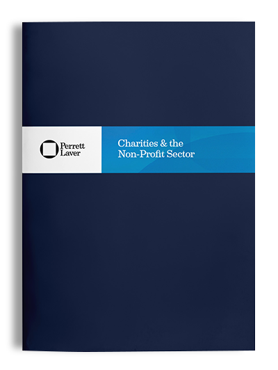Charities and the Non-Profit Sector Brochure