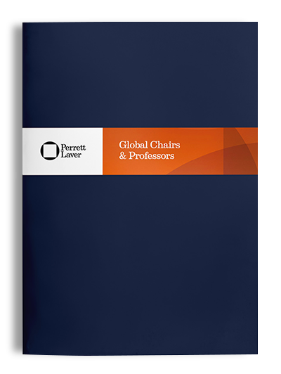 Global Chairs and Professors Brochure