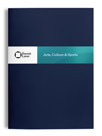 Arts, Culture and Sports Brochure