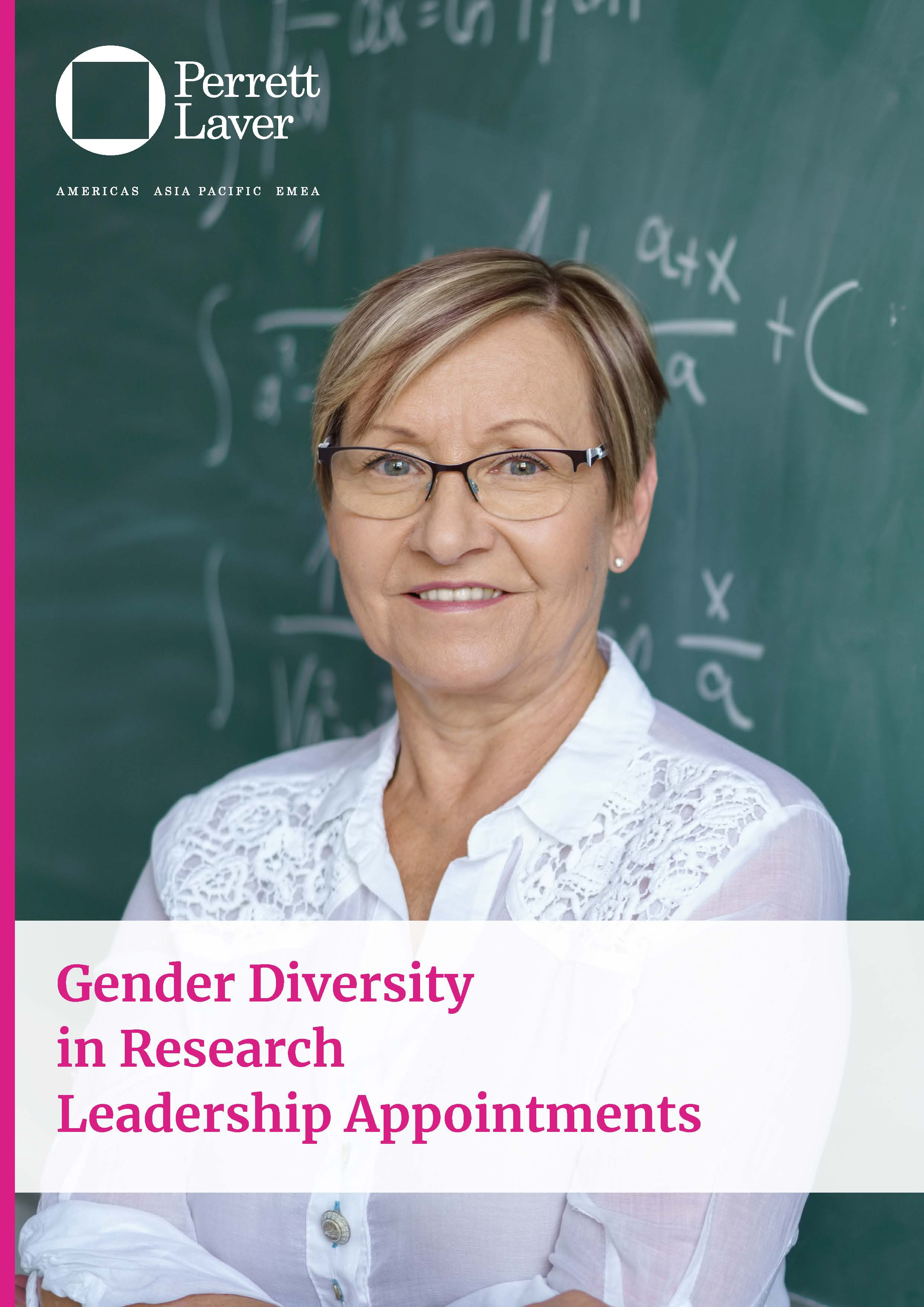 Gender Diversity in Research Leadership Appointments